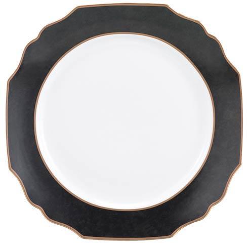 Black Service Plate