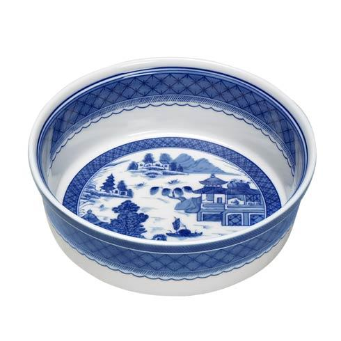 Mottahedeh  Blue Canton Round Souffle $70.00