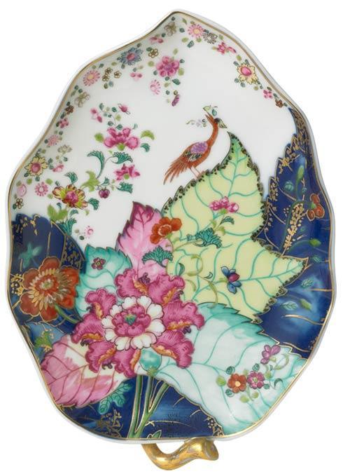 Mottahedeh  Tobacco Leaf Candy Leaf Dish $210.00