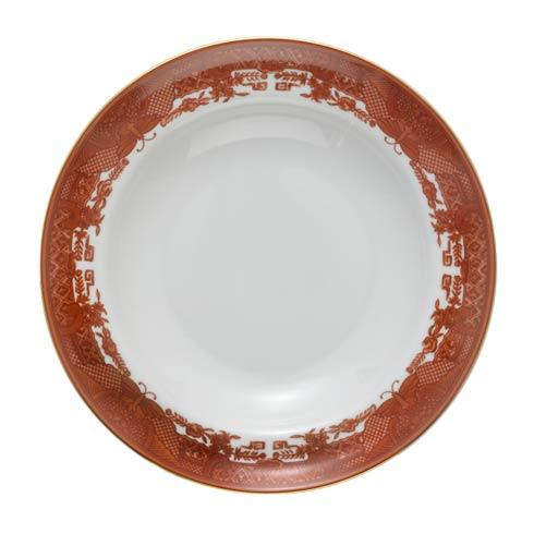 Cinnabar Rim Soup Plate