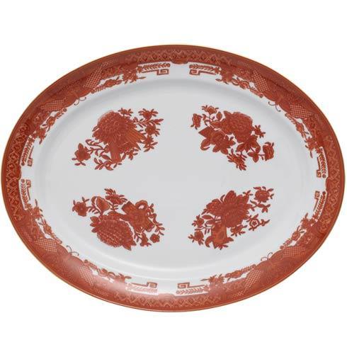 Cinnabar Oval Platter