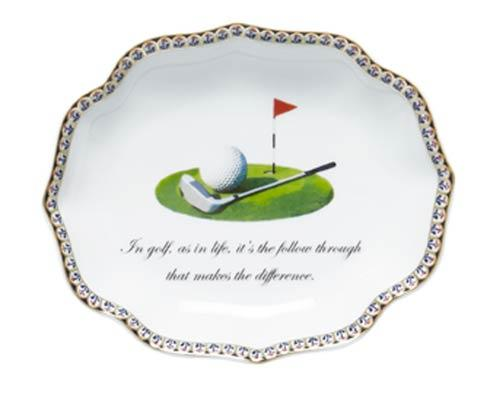 In Golf, As In Life, It\'S The Follow Through That Makes The Difference (Golf Club Motif)