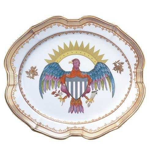 Mottahedeh  Chinese Export Eagle Platter, Small $200.00