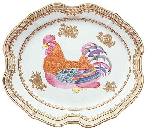 Mottahedeh  Chinese Export Rooster Platter, Small $185.00