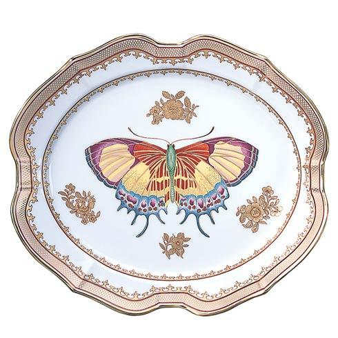 Mottahedeh  Chinese Export Butterfly Platter, Small $225.00