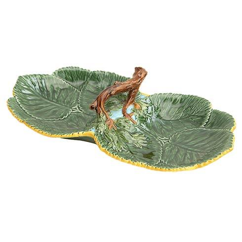 $325.00 Leaf Plate With Nuts, Double