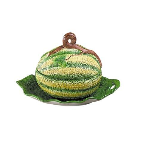 $225.00 Melon Tureen And Stand. Small