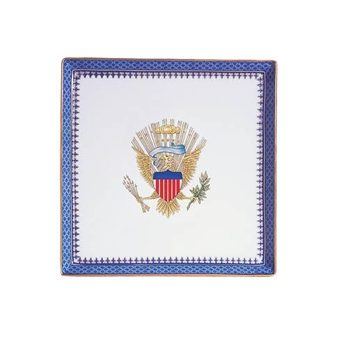 $130.00 Canape Plate With Eagle