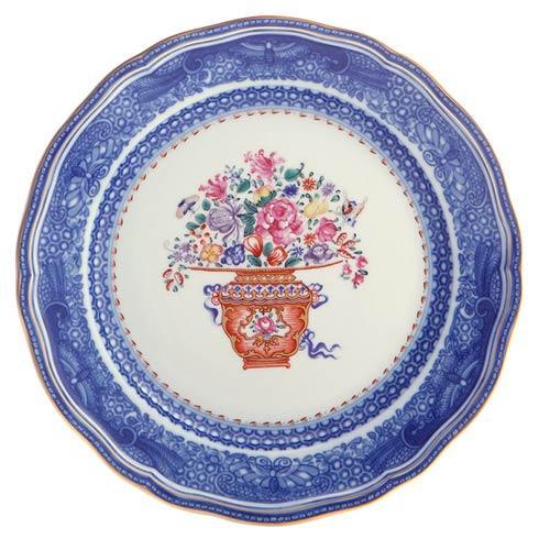 Mottahedeh  Mandarin Bouquet Dinner Plate $130.00