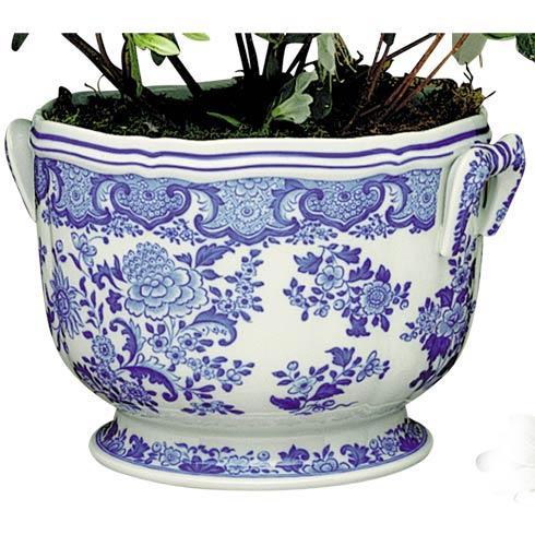 $435.00 Floral Cachepot
