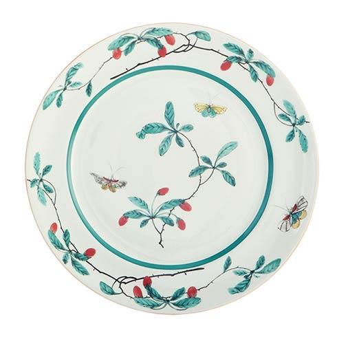 Mottahedeh  Famille Verte Famille Verte Dessert Plate $60.00