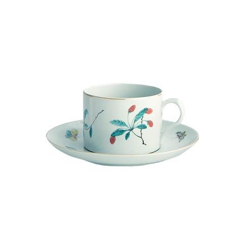 $65.00 Famille Verte Can Cup & Saucer
