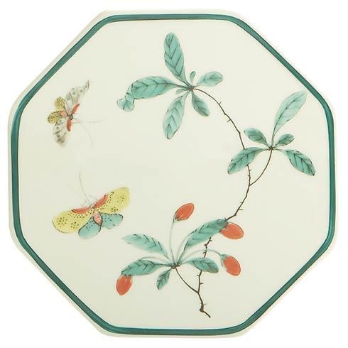 $45.00 Famille Verte Octagonal Tile
