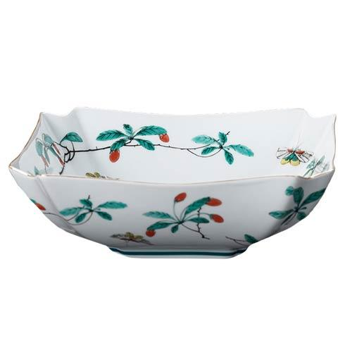 $205.00 Famille Verte Low Square Bowl
