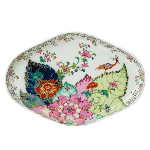 Mottahedeh  Tobacco Leaf Oval Tray $125.00