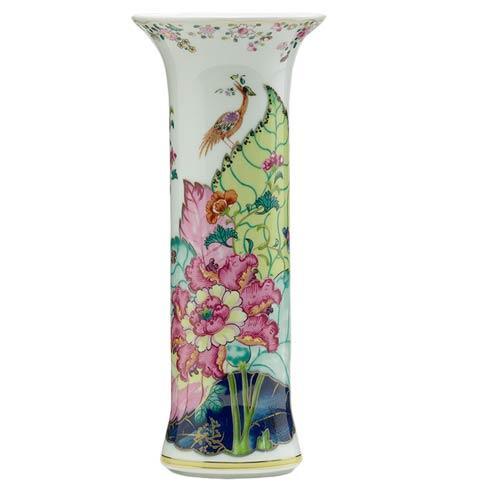 Mottahedeh  Tobacco Leaf Trumpet Vase $300.00