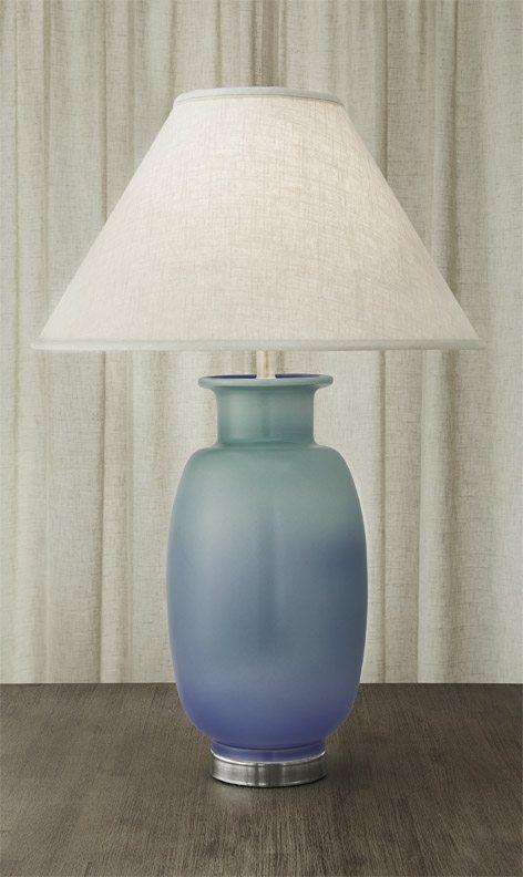 $1,100.00 Vase Lamp Verdigris & Blue