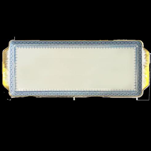 Cornflower Lace Sandwich Tray image