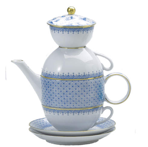 $340.00 Cornflower Tea For Two Boxed Set