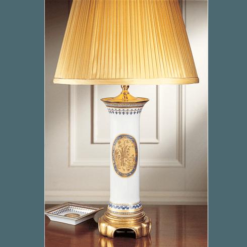 $600.00 Chinoise BlueTrumpet Lamp