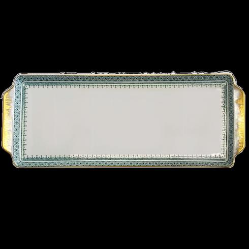 Green Lace Sandwich tray image