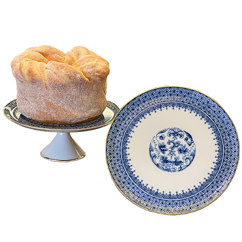Blue Lace  Small Cake Stand