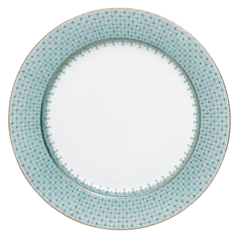 Mottahedeh Lace Green Service Plate $135.00