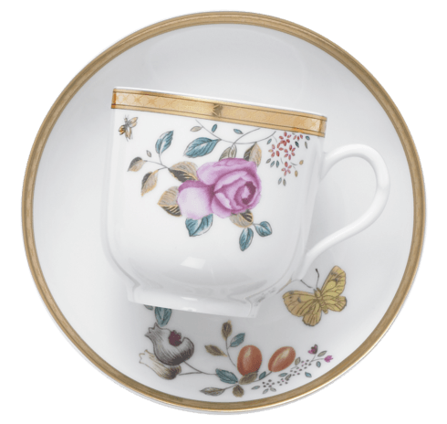 $320.00 Teacup And Saucer, Set/4