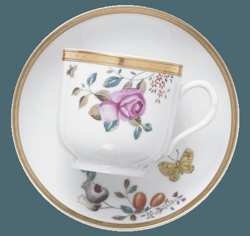 $320.00 Teacup And Saucer, Set/4