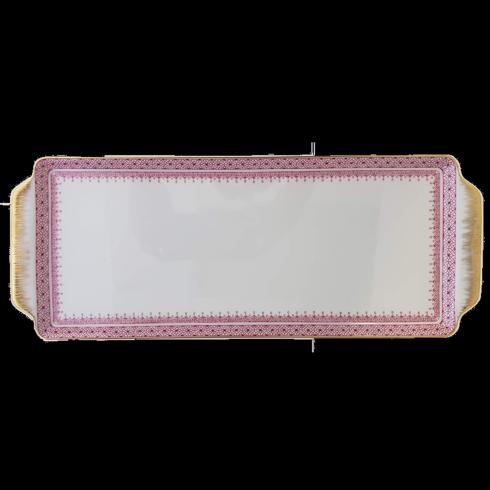 Pink Lace Sandwich Tray image