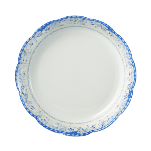 Mottahedeh  Virginia Blue Soup Pl White $30.00