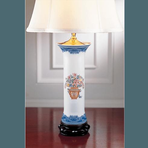 $525.00 Mandarin Bouquet Trumpet Lamp