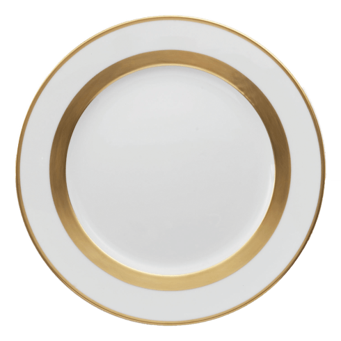 Robert Haviland & C. Parlon  William Gold Dinner Plate $145.00