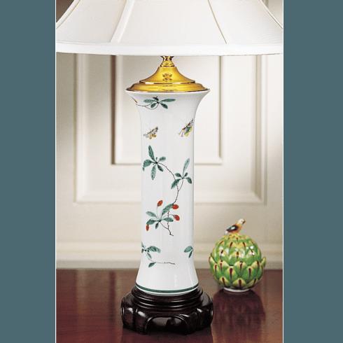 $435.00 Famille Verte Trumpet Lamp