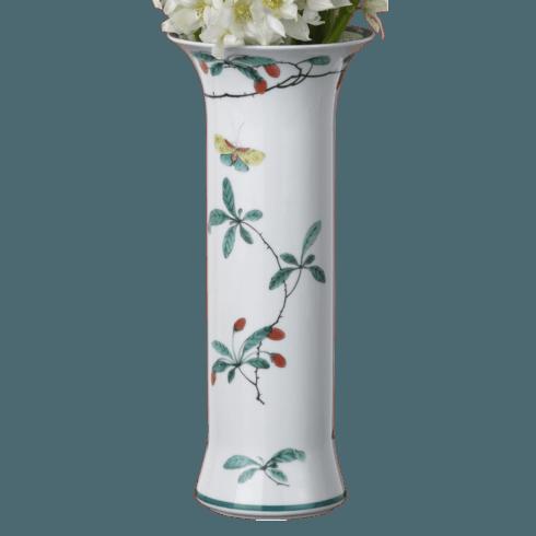 $115.00 Famille Verte Trumpet Vase