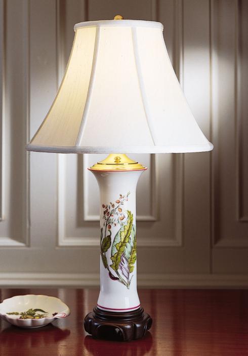 $425.00 Chelsea Botanical Trumpet Lamp