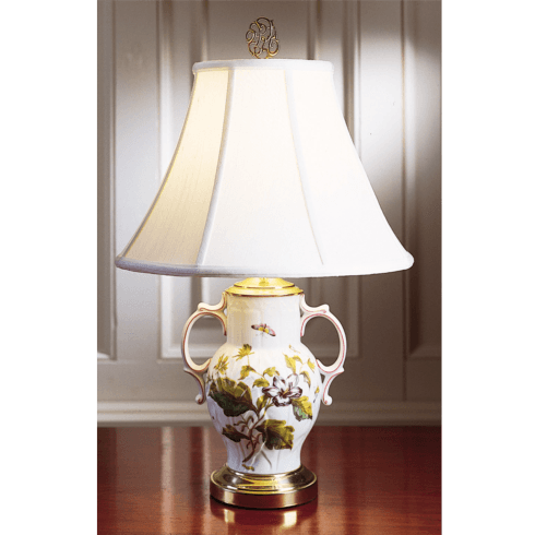 $460.00 Chelsea Botanical Two-Handled Lamp