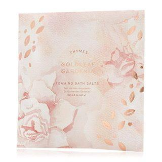 $6.00 Goldleaf Gardenia Bath Salts Envelope