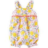 Lemon Floral Bubble 6-9mos. collection with 1 products