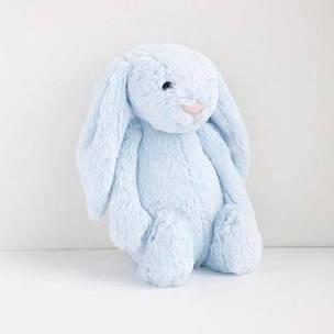 $24.00 Bashful Aqua Bunny