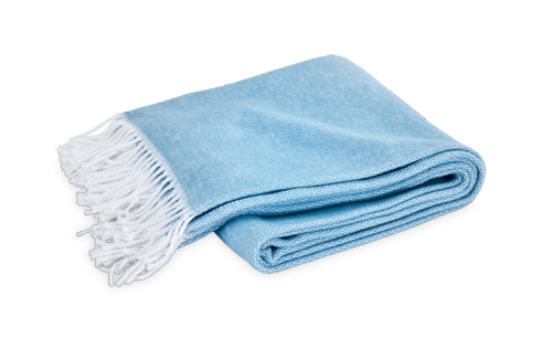 Pezzo Throw Cerulean collection with 1 products
