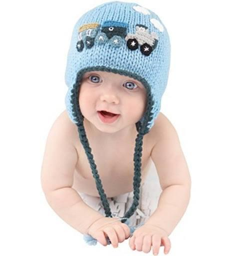 $24.00 Md Choo Choo Train Beanie 6-24mos