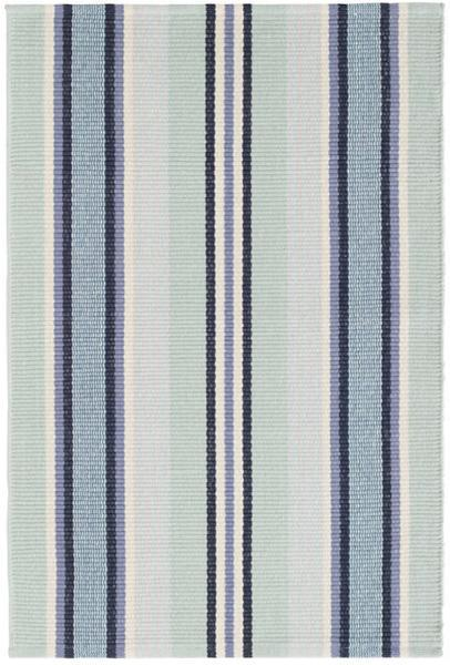 $140.00 Barbados Stripe 4X6 Cotton Rug