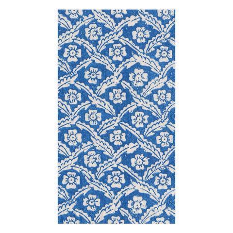 $8.95 Domino Paper Floral Cross Brace Paper Guest Towel Napkins