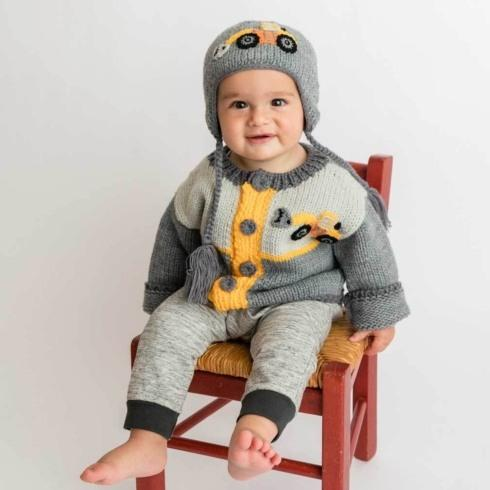$40.00 Digger Backhoe Sweater 0-6mos