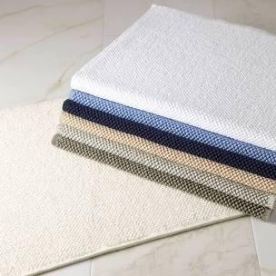 "$75.00 Reverie White Square 24""X24"" Bath Rug"