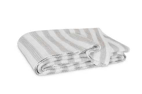 $288.00 Cabana Queen White/Natural Blanket