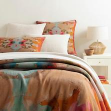 $544.00 Twin Kenly Linen Duvet Cover