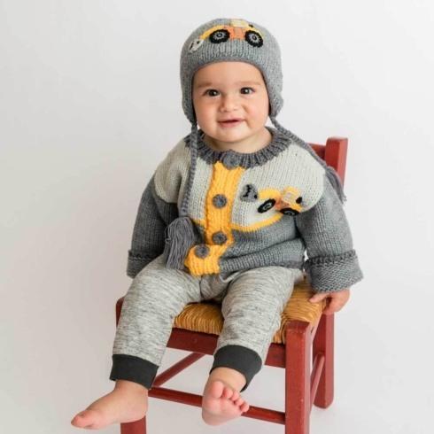 $40.00 Digger Backhoe Sweater 2-3T