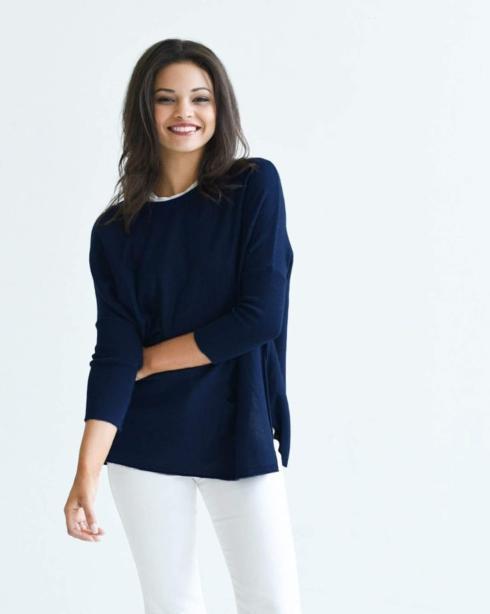 $89.00 Catalina Sweater/DEEPWATER